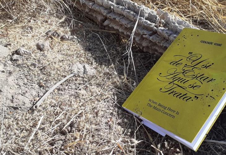 """Fernando Viano presenta su nuevo libro """"Y si de estar aquí se trata"""""""